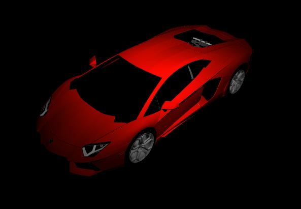 Three.js Lamborghini